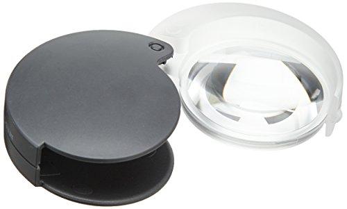 Eschenbach 171067 Optik Mobilent 7x Lupe (35 mm), Anthrazit