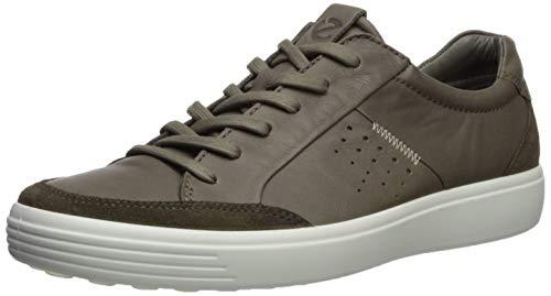 ECCO Herren Soft 7 Men's Sneaker, Grün (Tarmac/Dark Clay 59697), 42 EU