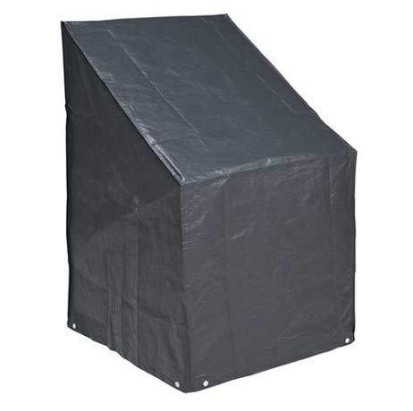 Nature Housse pour Chaise empilable de Jardin PE 140x75x70 cm 6031601