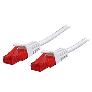 BIGtec 20m Gigabit Ethernet LAN Kabel Netzwerkkabel weiß Weiss