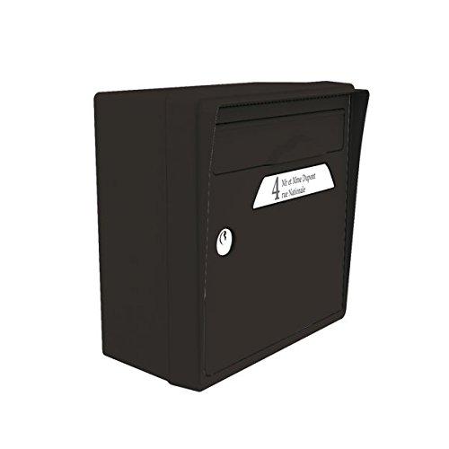 Preisvergleich Produktbild Signée SGCNR-NR Briefkasten Citadine, schwarz