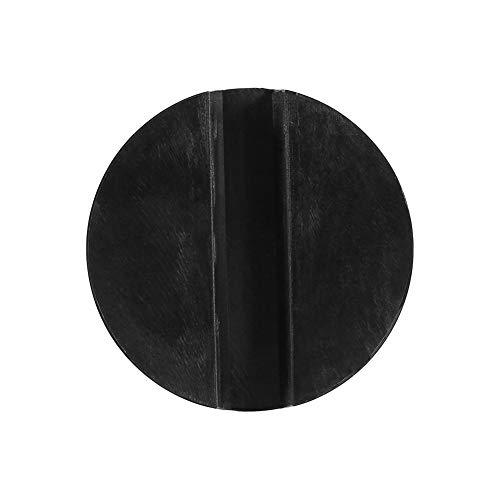 Block Bin (Jacking Blocks - 65x33mm Zylinderform Gummiauflage Gummiblock für Hopper Stock Bin Jack Durable Jack Werkstattwerkzeug)
