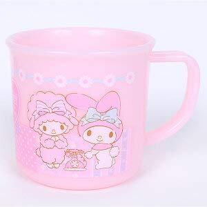 Marushin Sanrio My Melody Plastique Tasse (Rose) 617806 61780-6 à partir du Japon