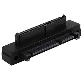 Universal-SFF-8482 SAS zu SATA 90-Grad-Winkel-Adapter Durable Converter Winkel Kopf perfekt passen Ihr Gerät - schwarz