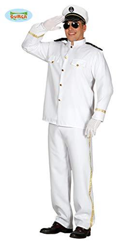 Kapitän Des Schiffes Kostüm - Schiffs Kapitän Uniform Karneval Fasching Party