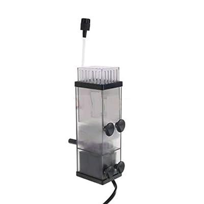 LUOSHUI Filtre d'écumeur de Surface de protéine d'huile d'aquarium pour Le Filtre de réservoir de Poisson 300L/h