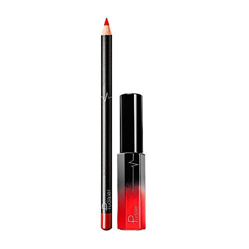 Neue Double-End Multifunktions Dauerhafte Lipliner Wasserdicht Lip Liner Stick Bleistift 36 Farbe Lippenstift Lipgloss Wasserdichte Matte Liquid Gloss Kosmetik Set