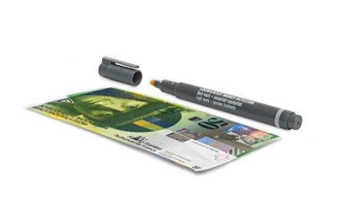 confronta il prezzo Safescan 111-0379 Penna Rivelatore di Banconote False, 3 Pezzi miglior prezzo