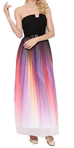 ShiYuan - Robe - Trapèze - Femme Noir