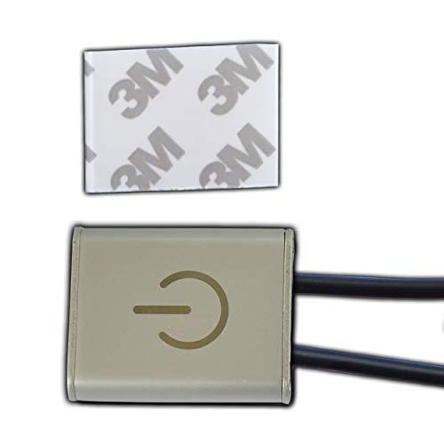 LED Touchdimmer/Dimmer 12V DC 3A / 36 Watt mit Anschlusskabel (Oberfläche 36w Stromversorgung)
