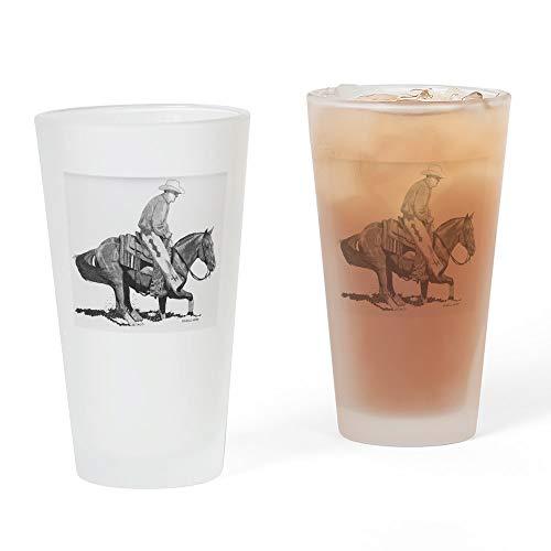 CafePress Ausstechform für Pint-Glas, 473 ml Trinkglas frosted -