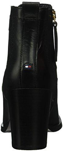 Tommy Hilfiger P1285enelope 12a, Bottes Classiques femme Noir - Nero (Black (990))