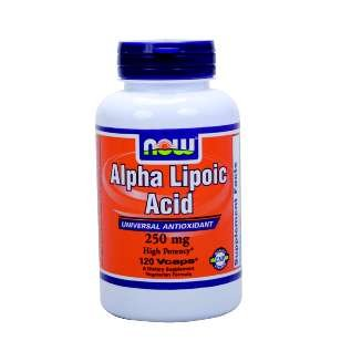 Alpha Lipoic Acid, 250mg - 120 caps by NOW Foods