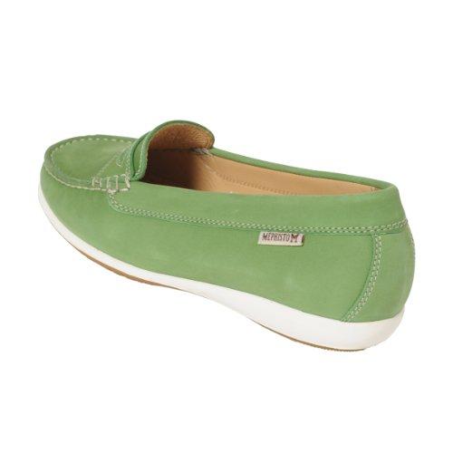 Portami Axena verde Bucksoft antiscivolo della scarpa Green