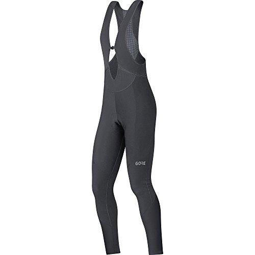 GORE Wear Atmungsaktive Damen Trägerhose, Mit Sitzpolster, C3 Women Thermo Bib tights+, 38, Schwarz, 100329 -