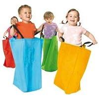 c6da2d89058 Equilibre et Aventure Amusement d enfant   Lot de 4 Grands Sacs en Tissu  avec