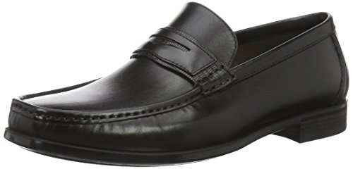 ECCO Dress Moc, Mocassini Uomo Nero (51052black/black)