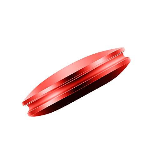 Deodorante for Auto Purificatore d'Aria for Auto con 3 diffusori di Profumo Accessori Interni for casa Ufficio Auto Accessori Auto MJZGYY (Color : Rosso, Size : Gratuito)