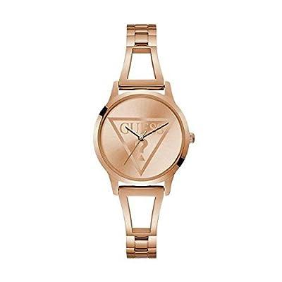 GUESS Reloj Analógico para Mujer de Cuarzo con Correa en Acero Inoxidable 8431242948089