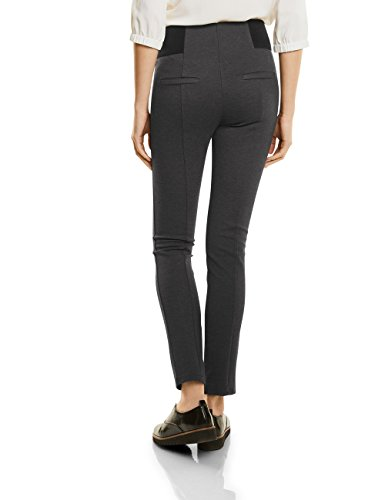 Street One Damen Hose 371036 Hella Grau (Coal Grey Melange 11120)