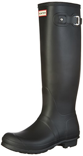 Hunter WOMENS ORG TALL, Damen Gummistiefel, Schwarz (Black), 38