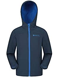 c1da49b1d Mountain Warehouse Exodus Chaqueta de Softshell para niños - Transpirable