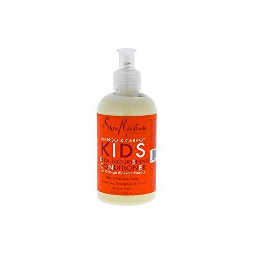 Shea Moisture Kids Mango & Carrot Conditioner 8oz (Shampoo Free Moisture Sulfate)