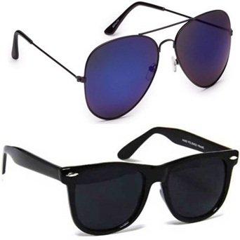 Sheomy Black Wayfarer Sunglasses - SG-011 Best Online Gifts