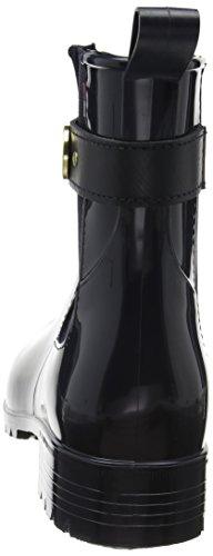 Tommy Hilfiger O1285xley 13r, Bottes d'eau femme Bleu (Midnight)