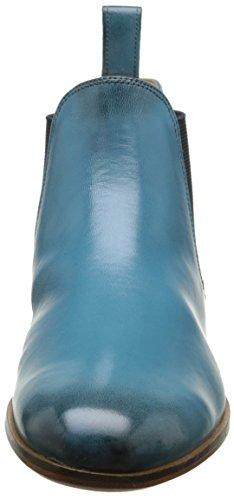 Melvin & Hamilton Susan 10, Bottes Chelsea Femme Turquoise (Salerno Sky/Elast Navy/Ls)