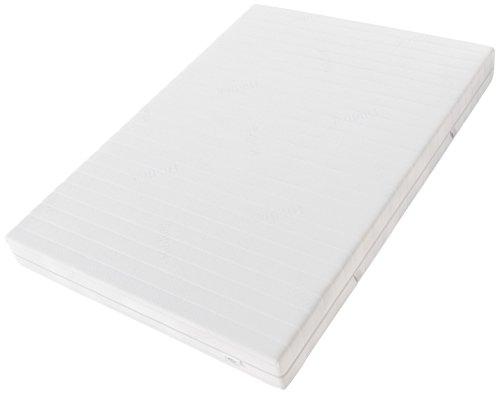 Hilding Sweden HA402 Latexmatratze, Schaumstoff, Weiß, 200 x 100 cm