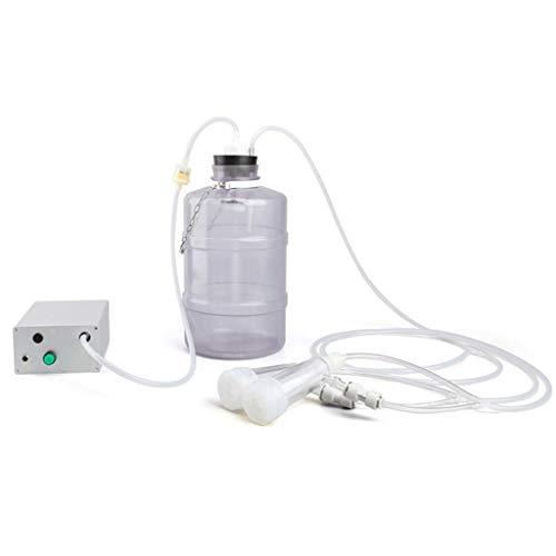 DYV 5L Kuhgebrauchs-Melkmaschine 12W elektrischer Haushalt schließen Aufladenmilchpumpe Silikonzwischenlage an