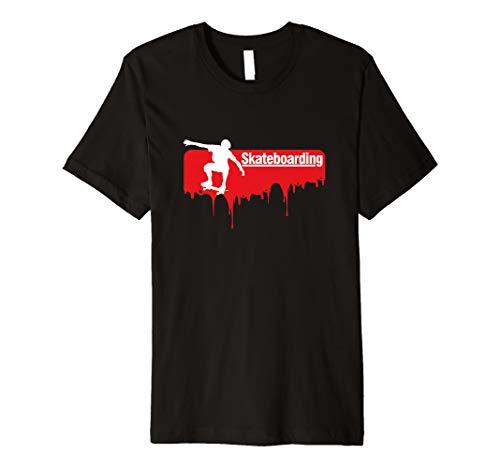 Skateboarden Longboard T-Shirt Skate Sport Geschenk
