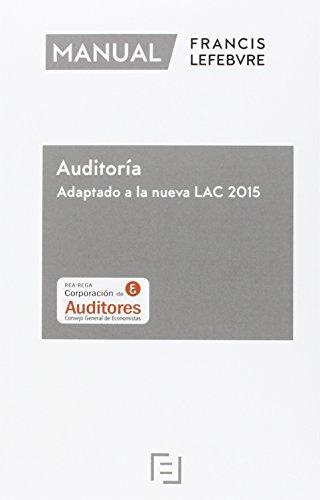 Manual De Auditoria. Adaptado A La Nueva Lac 2015
