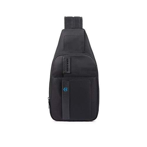 PIQUADRO Mono Sling Bag S Nero