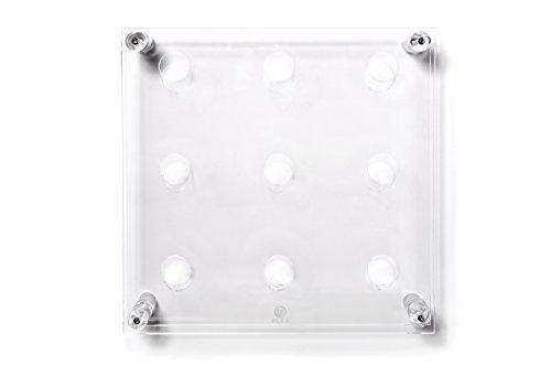 Iplex-Design-Divino-Big-Portabottiglie-da-Parete-PlexiglassPMMA-Trasparente