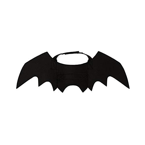 Creative Pet Bat Costume Chic Dog Ali di Pipistrello Halloween Batman Design Ali per Cani Gatti Puppy Kitten