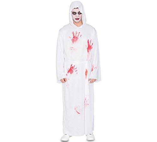 Fyasa 706510-T04 - Túnica Blanca con Disfraz de Sangre,, tamaño Grande