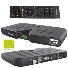 Skymaster DTR5000 DVB-T2 Receiver HDTV H.265 HEVC mit Kartenlosen Irdeto-Zugangssystem für freenet TV  (HDMI, USB 2.0) schwarz