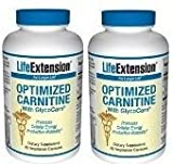 Life Extension Optimized Carnitine w/ Glycocarn VCaps, 60 ct (Pack of 2)