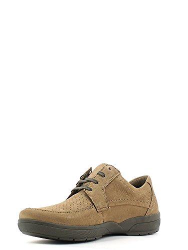 Mephisto AGAZIO PERF SPORTBUCK 1965 SOMBRE TAUPE P5106761, Scarpe chaussures à lacets basses homme - Dk taupe/