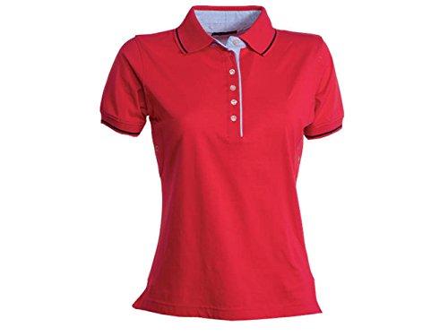 ATELIER DEL RICAMO - T-shirt de sport - Femme Rosso / Blu Navy