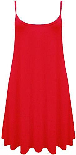 Sugerdiva - Robe - Patineuse - Femme red