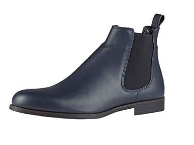 Chelsea Boots - elegant - mit Gummizug - blau Größe 41 EU