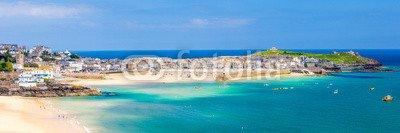leinwand-bild-60-x-20-cm-st-ives-cornwall-england-uk-bild-auf-leinwand