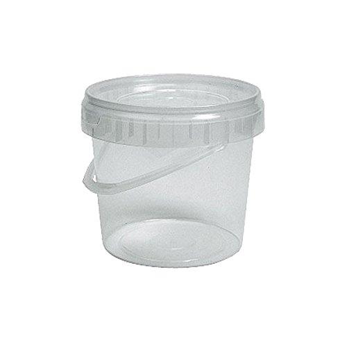Cubo plástico uso alimentario redondo alto 2500cc