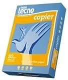 Inapa Kopierpapier tecno copier A4 80g/qm weiß VE=500 Blatt 2-fach gelocht