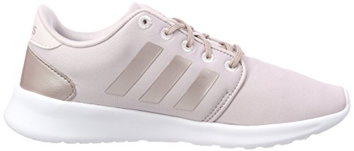 best service 3eee8 65d02 adidas Womens Cf Qt Racer W Fitness Shoes, Purple (Ice Purpl