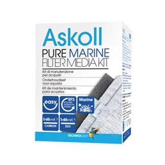 Askoll Ac350017 Pure Marine Filter Media Kit, M -