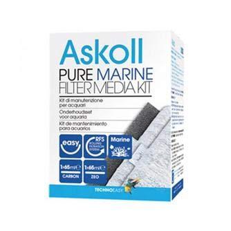 Media Kit (Askoll Ac350017 Pure Marine Filter Media Kit, M)